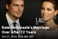 Kate Beckinsale's Marriage Over After 12 Years