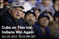Cubs on Thin Ice: Indians Win Again