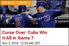 Curse Over: Cubs Win It All in Game 7