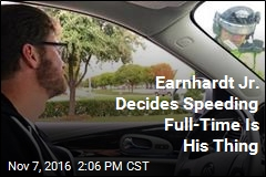 Dale Jr. Getting Pulled Over for Speeding Seems Right Somehow