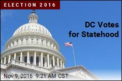 DC Votes for Statehood
