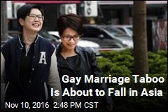 Gay Marriage Taboo Is About to Fall in Asia