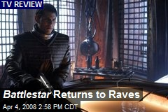 Battlestar Returns to Raves