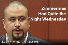 Zimmerman Had Quite the Night Wednesday