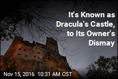 It's Known as Dracula's Castle, to Its Owner's Dismay