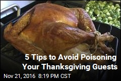 5 Tips to Avoid Poisoning Your Thanksgiving Guests