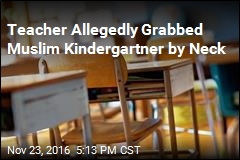 Muslim Kindergartner Says Teacher Mistreated Him