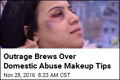 Outrage Brews Over Domestic Abuse Makeup Tips