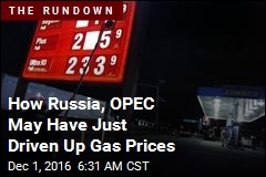 Oil Price Soars After OPEC, Russia Deal