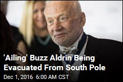 'Ailing' Buzz Aldrin Being Evacuated From South Pole