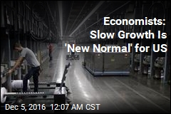 Economists: Slow Growth Is 'New Normal' for US