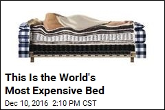 Got $150K Burning a Hole in Your Pocket? Here's a Bed