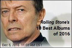 Rolling Stone's 10 Best Albums of 2016