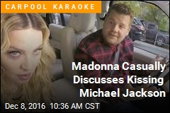 Madonna Casually Discusses Kissing Michael Jackson