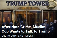 Muslim Cop Targeted in Hate Crime Seeks Trump Meeting