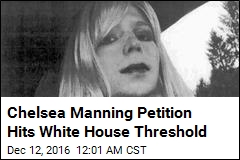 Chelsea Manning Petition Hits White House Threshold