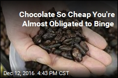 Chocolate So Cheap You're Almost Obligated to Binge