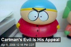 Cartman's Evil Is His Appeal