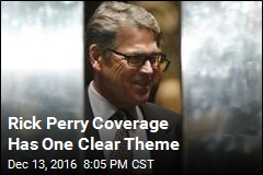Rick Perry Coverage Has One Clear Theme