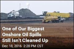 Oil Spilled in ND 3 Years Ago. It Still Isn't Cleaned Up