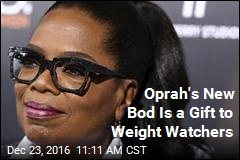 Oprah's New Bod Is a Gift to Weight Watchers