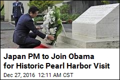 Japan PM to Join Obama for Historic Pearl Harbor Visit