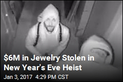 $6M in Jewelry Stolen in New Year's Eve Heist
