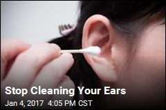 Stop Cleaning Your Ears