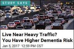 Live Near Heavy Traffic? You Have Higher Dementia Risk