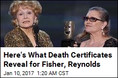 Carrie Fisher's Death Certificate Is Out, but Questions Remain