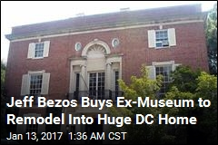 Jeff Bezos Buys DC's Biggest Home