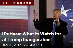 What to Watch for on Inauguration Day