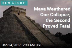 Maya Weathered One Collapse; the Second Proved Fatal
