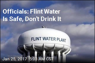 Officials: Flint Water Is Safe, Don't Drink It