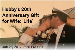 Hubby's 20th Anniversary Gift for Wife: 'Life'