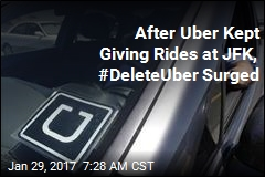In NY, Muslim Ban Protest Spawns #DeleteUber