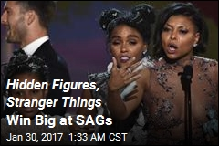 Hidden Figures, Stranger Things Win Big at SAGs