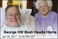 Bush Senior Is Out of Hospital