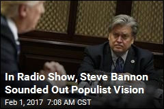 6 Quotes as Radio Host Show Bannon's World View