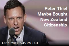 Peter Thiel Maybe Bought New Zealand Citizenship