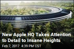 Like Steve Jobs, Apple's New HQ Sweats the Small Stuff