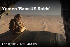 Yemen 'Bans US Raids'