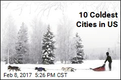10 Coldest Cities in US