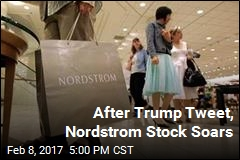After Trump Tweet, Nordstrom Stock Soars