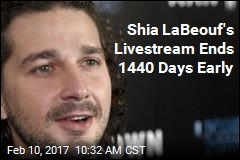 Shia LaBeof's Political Livestream Is Kaput