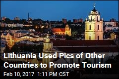 Lithuania Used Pics of Other Countries to Promote Tourism