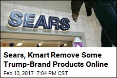 Sears, Kmart Remove Some Trump-Branded Products Online