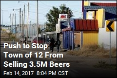 Push to Stop Town of 12 From Selling 3.5M Beers