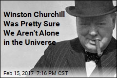 Winston Churchill Believed in the Possibility of Alien Life