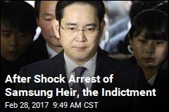 After Shock Arrest of Samsung Heir, the Indictment